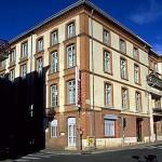 Hotel Mercure (antes du Midi). En el primer piso, murío Manuel Azaña